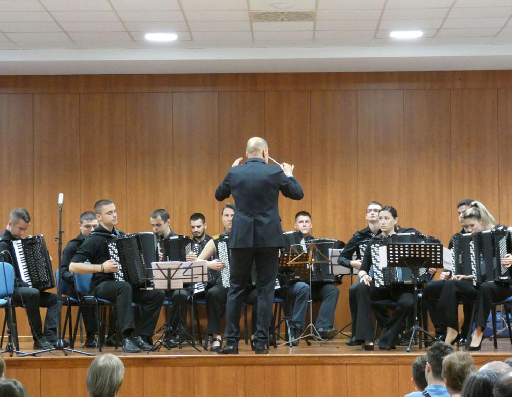 Gostovanje Kragujevačkog akademskog orkestra akordeonista
