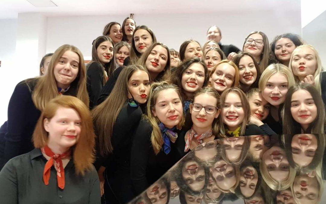 Djevojački zbor odlazi na državno natjecanje