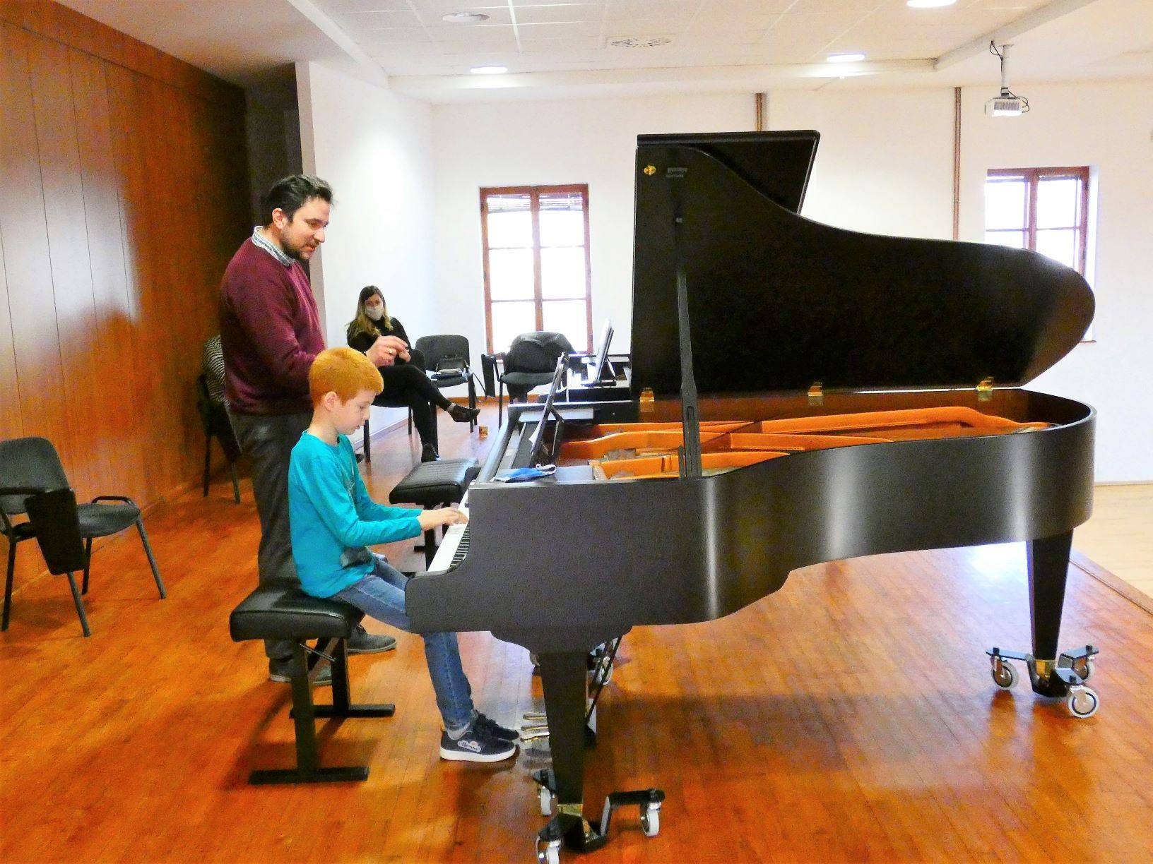 Seminar za klaviriste - prof. Filip Fak