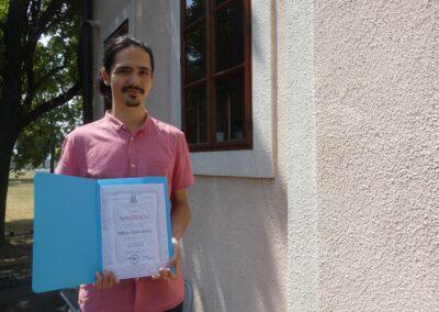 Mislav je nagrađen za završni rad o vlastitim skladbama